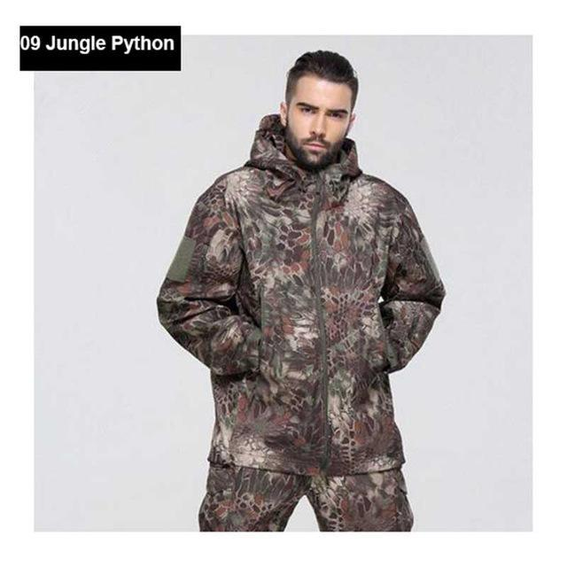 Hot ! Military Winter Hunting Clothes Softshell Tad Tactical Outdoor Hiking-Fuous Outdoor Store-09-S-Bargain Bait Box