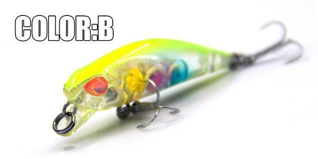 Hot Model Bearking 4.2Cm 2.8G Fishing Wobblers Dive 0.3-0.6M Fishing Lure-bearking fishingtackle Store-B-Bargain Bait Box