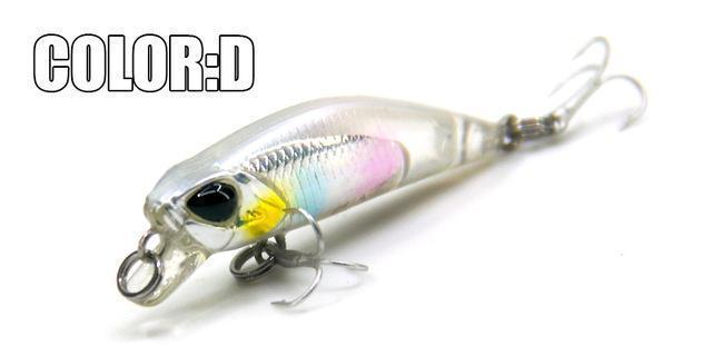 Hot Model Bearking 4.2Cm 2.8G Fishing Wobblers Dive 0.3-0.6M Fishing Lure-bearking fishingtackle Store-D-Bargain Bait Box