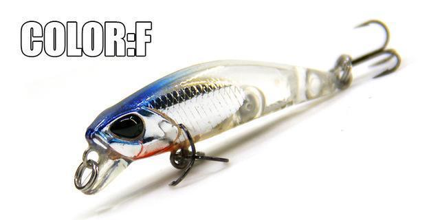 Hot Model Bearking 4.2Cm 2.8G Fishing Wobblers Dive 0.3-0.6M Fishing Lure-bearking fishingtackle Store-F-Bargain Bait Box