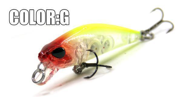 Hot Model Bearking 4.2Cm 2.8G Fishing Wobblers Dive 0.3-0.6M Fishing Lure-bearking fishingtackle Store-G-Bargain Bait Box