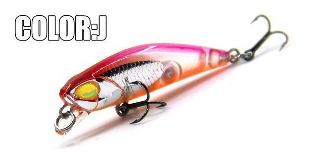 Hot Model Bearking 4.2Cm 2.8G Fishing Wobblers Dive 0.3-0.6M Fishing Lure-bearking fishingtackle Store-J-Bargain Bait Box