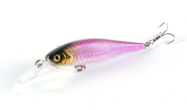 Hot Model Fishing Lures Hard Bait 8Color For Choose 10Cm 9.4G Minnow Bait-ZGTN Fishing Store-1-Bargain Bait Box