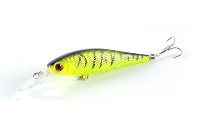 Hot Model Fishing Lures Hard Bait 8Color For Choose 10Cm 9.4G Minnow Bait-ZGTN Fishing Store-7-Bargain Bait Box