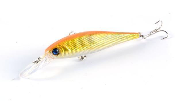 Hot Model Fishing Lures Hard Bait 8Color For Choose 10Cm 9.4G Minnow Bait-ZGTN Fishing Store-8-Bargain Bait Box