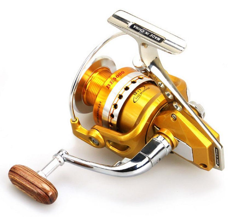 Hot Sales Be7000 Gold Silver For Big Fish Ocean Inshore Saltwater Ice Fly Carp-Spinning Reels-WE WHOLESALES&RETAIL Store-1000 Series-Bargain Bait Box