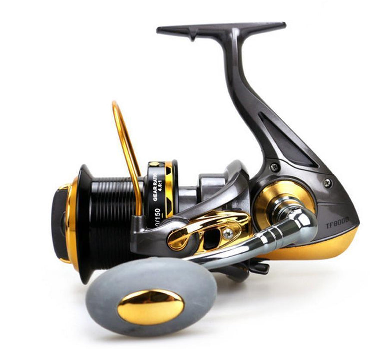 Hot Sales Tf 8000-9000 Ice Fly Carp Spinning Fishing Reel 12 Hpcr Ball-Spinning Reels-WE WHOLESALES&RETAIL Store-8000 Series-Bargain Bait Box