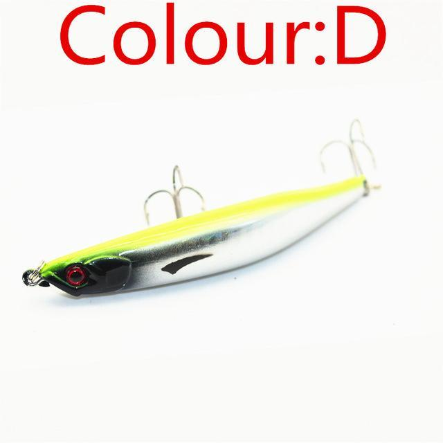 Hot Sell 1Pcs Fishing Tackle 9.5Cm 8.3G Hard Minnow Lure Artificial Bait Fishing-WDAIREN KANNI Store-D-Bargain Bait Box