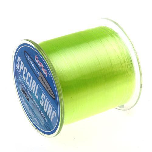 Hot Sell 500M Dah Series Super Strong Monofilament Color Nylon Fishing Line Good-DAH Fishing Tackle Factory Store-fluo yellow-0.4-Bargain Bait Box