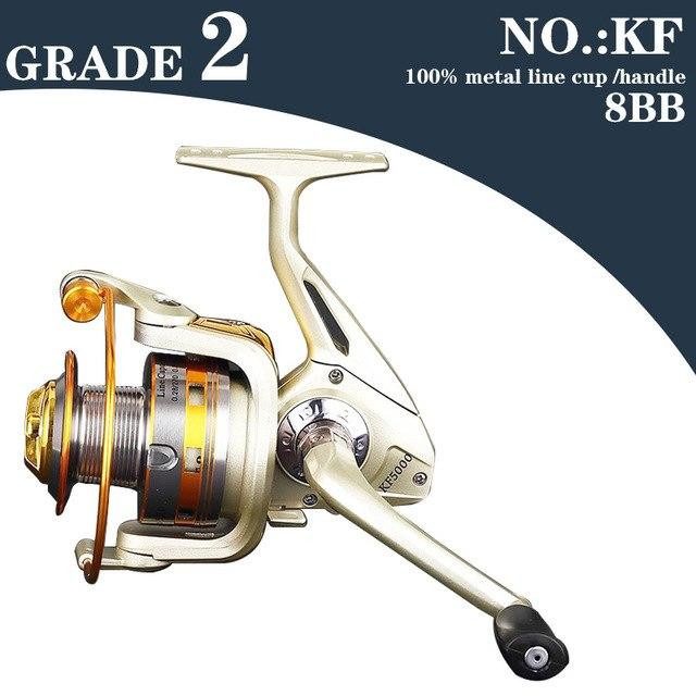 Hot Selling High Quality Cheapest Spinning Reel Fishing Reel 1000-9000 Series-Jenny's wholesale online store-BY-DL-NO02KF-1000 Series-Bargain Bait Box