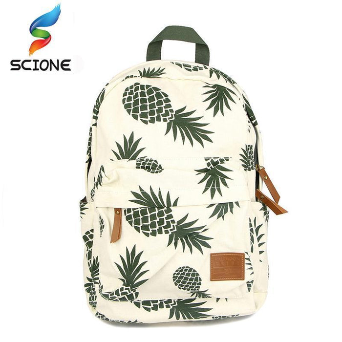 Hot Special Designed Backpack Pineapple Printing School Bags For Teenager-Love Lemon Tree-Bargain Bait Box