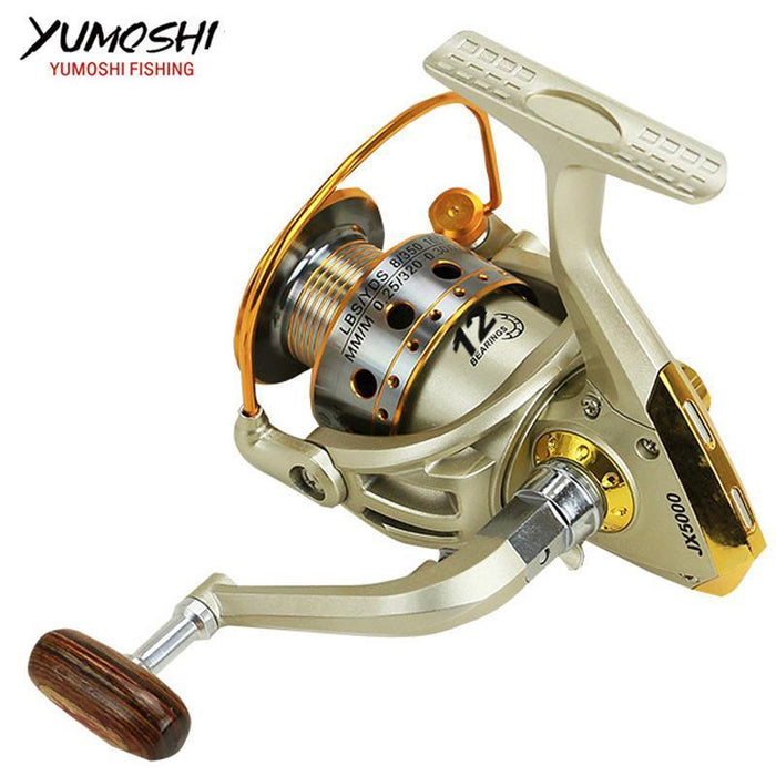 Hot Wheels Fish Spinning Reel 5.5:1 10Ball Bearing Carretilhas De Pescaria-Spinning Reels-HUDA Sky Outdoor Equipment Store-1000 Series-Bargain Bait Box