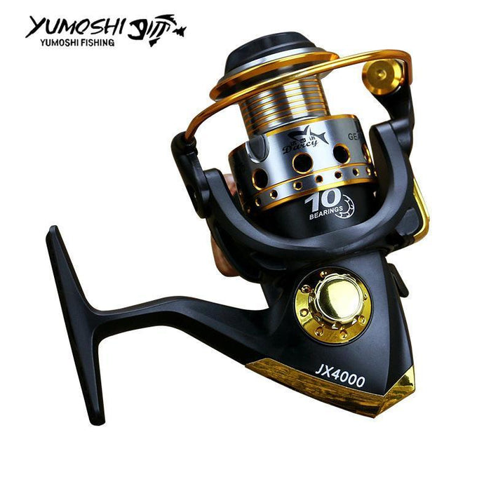 Hot Wheels Spinning Fish Reel 5.5:1 10 Ball Bearing 1000-7000Series-Spinning Reels-HD Outdoor Equipment Store-1000 Series-Bargain Bait Box