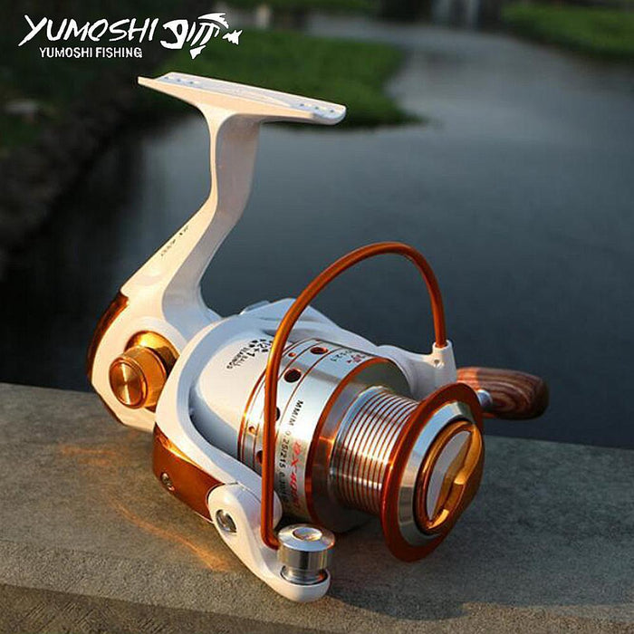 Hot Wheels Spinning Fish Reel Metallica Spool 12+1Bb Carretilhas De Pescaria-Spinning Reels-HUDA Sky Outdoor Equipment Store-1000 Series-Bargain Bait Box