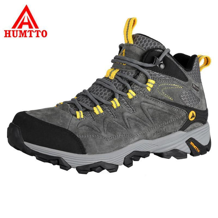 94fa2cdadf5 Humtto Men'S Hiking Shoes Thermal Outdoor Shoes Pig Nubuck Leather  Waterproof