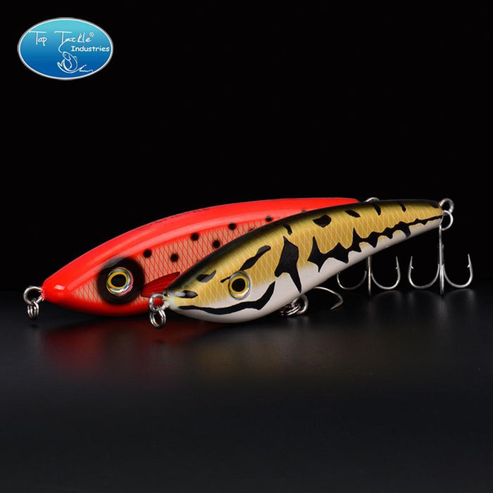 Hunter Jerk Bait Sinking Pencil Nice Fishing Lurelifelike Color Fishing Tackle-TOP TACKLE INDUSTRIES-135mm 001-Bargain Bait Box
