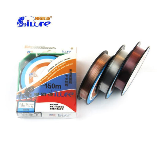 Ilure 150M Fluorocarbon Line Transparent Carp Wire For Ice Fishing Lines Super-Holiday fishing tackle shop Store-Multicolored-0.4-Bargain Bait Box