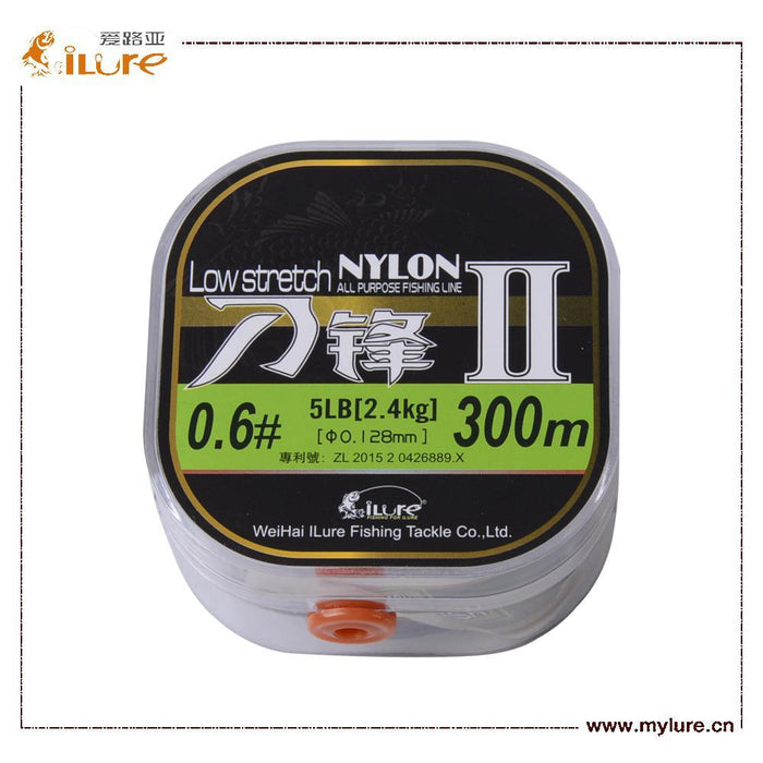 Ilure Brand 300 M Nylon Fishing Lineseries Super Strong Japan Monofilament Nylon-iLures Fishing Tackle Store-White-0.6-Bargain Bait Box