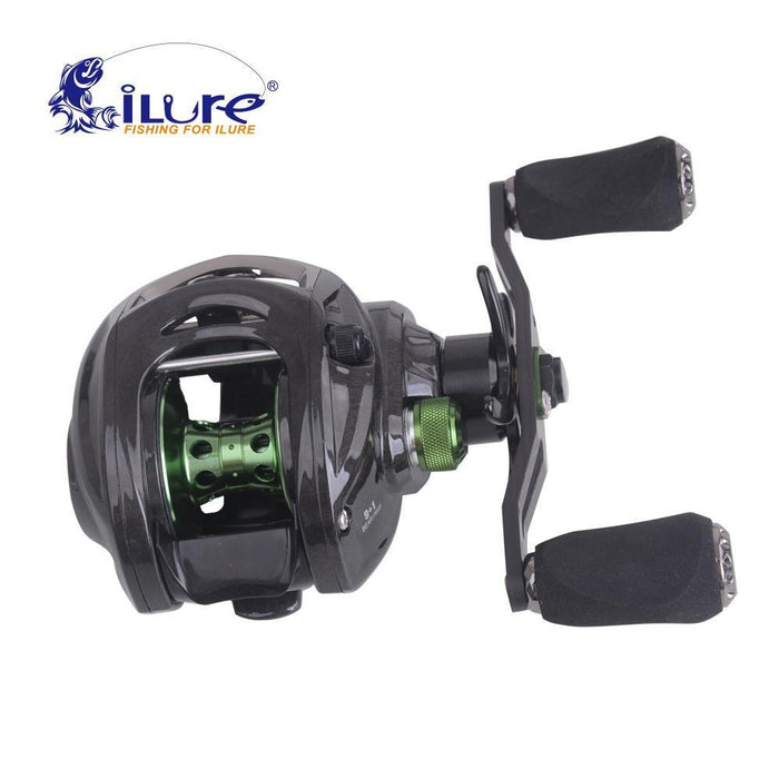Ilure Brand Carbon Super Lighter Corrosion Protection 10Bb Speed Saltwater-Baitcasting Reels-ilure Official Store-Bargain Bait Box