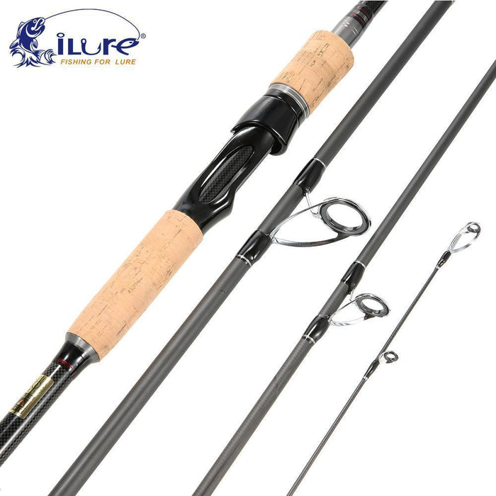 Ilure Casting Spinning Rod 2.1M 2.4M 2.7M 3.0M Telescopic Carbon Fishing-Spinning Rods-ilure Official Store-2.1 m-Bargain Bait Box