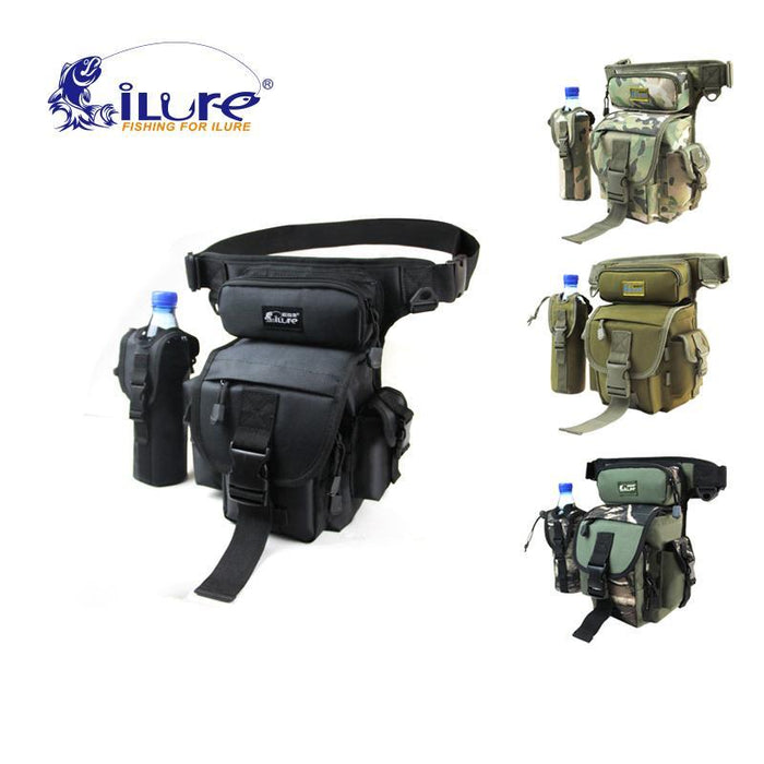 Ilure Large Sport Bags Waterproof Fishing Tackle Tools Bag Backpack 29*22*12-Tackle Bags-Bargain Bait Box-White-Bargain Bait Box