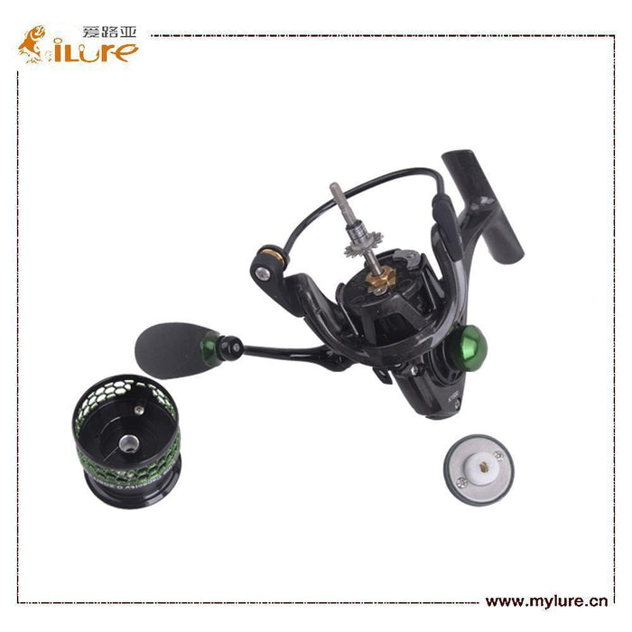 Ilure Mela Super Light Weight Graphit Body 10 Bearing Balls Spinning Reel-Spinning Reels-ilure Official Store-1500 Series-Bargain Bait Box