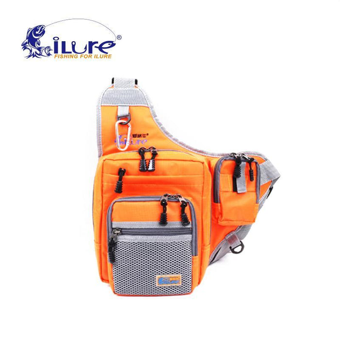 Ilure Waterproof Multifunction Bags 32*39*12 Cm Canvas Shoulder Bag Sports-Tackle Bags-Bargain Bait Box-Yellow-Bargain Bait Box