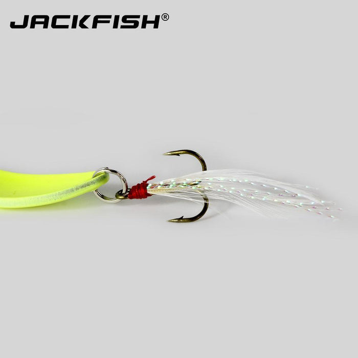Jackfish Metal Luminous Hard Lure 5/7/10/13G Spinner Spoon Baits Sequins Noise-JACKFISH Official Store-5g-Bargain Bait Box
