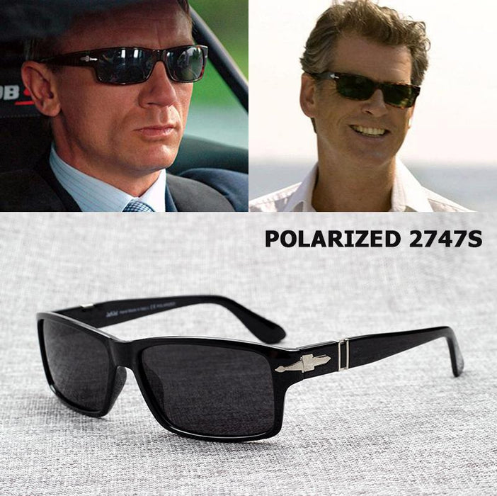 Jackjad Men Polarized Driving Sunglasses Mission Impossible4 Tom Cruise James-Polarized Sunglasses-Bargain Bait Box-1 Glossy Black-Bargain Bait Box