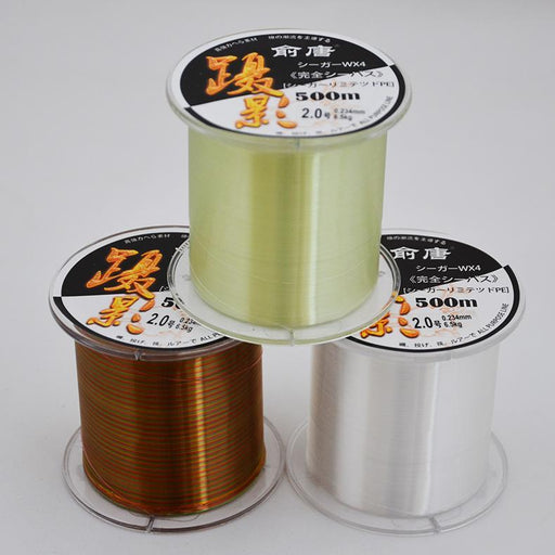 Japan Nylon Line 547Yds/500M Masters Premium Monofilament Line 0.23-0.5Mm-FJORD Fishing Store-Aqua-2.0-Bargain Bait Box