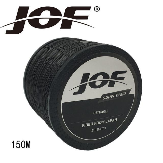 Jof 4 Strands 150M Pe Braided Fishing Line Multifilament Fishing Line Wire-YPYC Sporting Store-Black-0.3-Bargain Bait Box