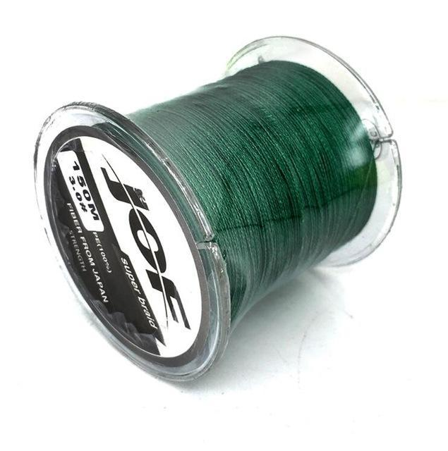 Jof Fishing Line For Fishing Rope Spearfishing Multifilament Braided X4 Peche-HUDA Sky Outdoor Equipment Store-Green-1.0-Bargain Bait Box