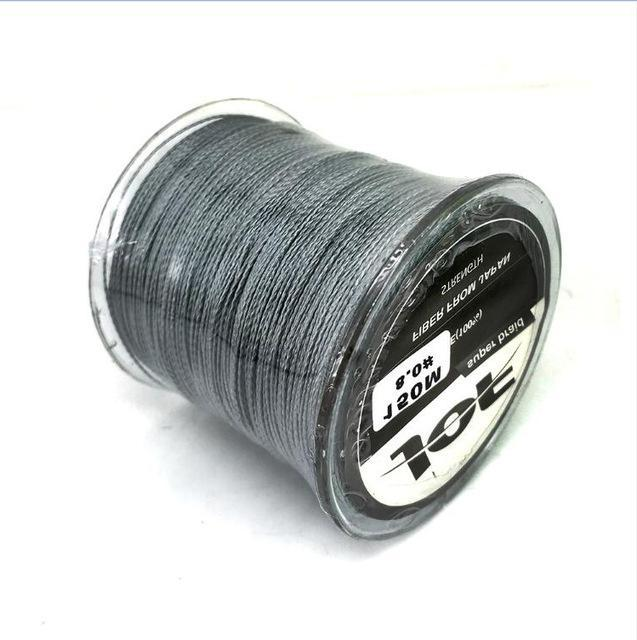 Jof Fishing Line For Fishing Rope Spearfishing Multifilament Braided X4 Peche-HUDA Sky Outdoor Equipment Store-Grey-1.0-Bargain Bait Box