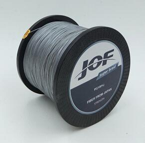 Jof Peche 8Strands 300M Super Strong 8Plys Japan Multifilament Pe 8 Braided-Thanksgiving Family-JOF8P300Grey-1.0-Bargain Bait Box