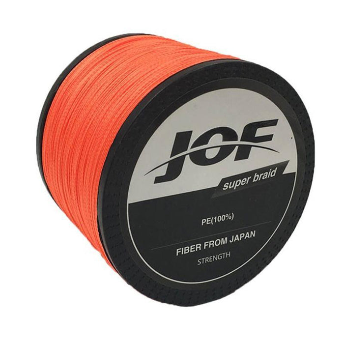 Jof Top Quality 1000M 4 Strands 4Lb - 150Lb Braided Fishing Line Pe Strong-Shop2195047 Store-White-0.3-Bargain Bait Box