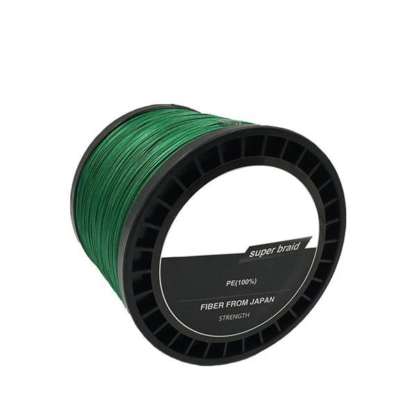 Jsfun 8 Wire Strands Fishing Line 1000M Multifilament Fishing Line Fishing-JSFUN Official Store-green-0.8-Bargain Bait Box