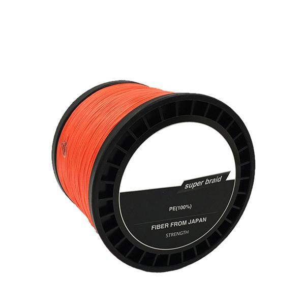 Jsfun 8 Wire Strands Fishing Line 1000M Multifilament Fishing Line Fishing-JSFUN Official Store-orange-0.8-Bargain Bait Box