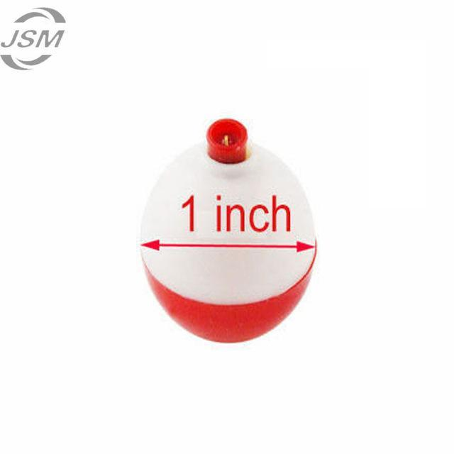 Jsm 4 Pcs/Lot 1 Inch Size Fishing Bobber Buoy Float Sea Fishing Floats Plastic-Fishing Floats-Bargain Bait Box-Bargain Bait Box