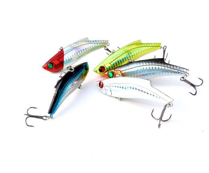 Jtlure 5Pcs/Lot 35G 9Cm Winter Vib Fishing Lure Hard Bait With Lead Inside Ice-Fishing Lure Family-Bargain Bait Box