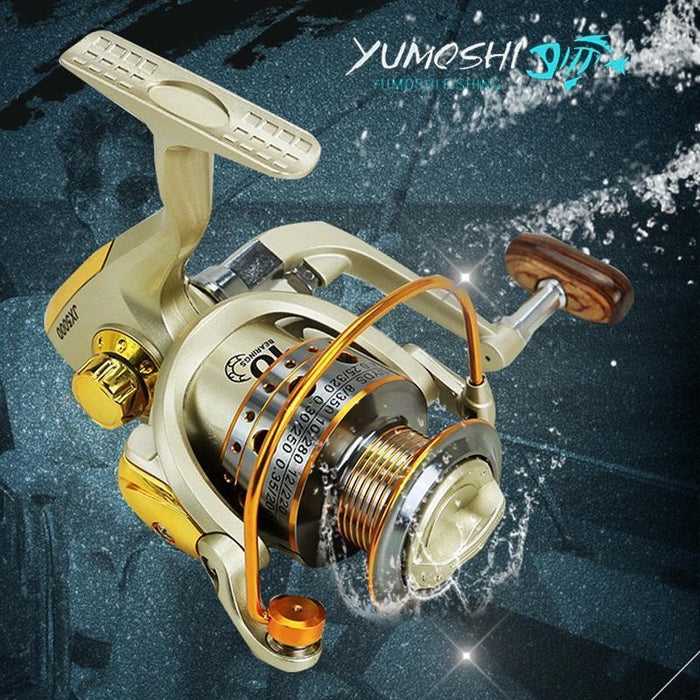 Jx1000 - 7000 Series Metal Superior Spinning Fishing Reel Ratio 5.5:1-Spinning Reels-JiaMing wholesale Store-1000 Series-Bargain Bait Box