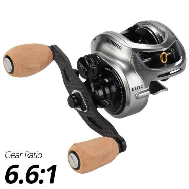 Kastking Bassinator Elite Baitcasting Fishing Reel 8Kg Drag 10+1 Bbs Carp-Fishing Reels-Affordable Fishing Store-Classic-Left Hand-Bargain Bait Box