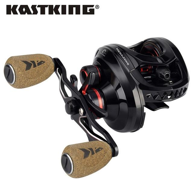 Kastking Megajaws High Speed Freshwater Fishing Reel 8Kg Max Drag Winter-Fishing Reels-kastking FishingTackle Store-Black-12-Left Hand-Bargain Bait Box