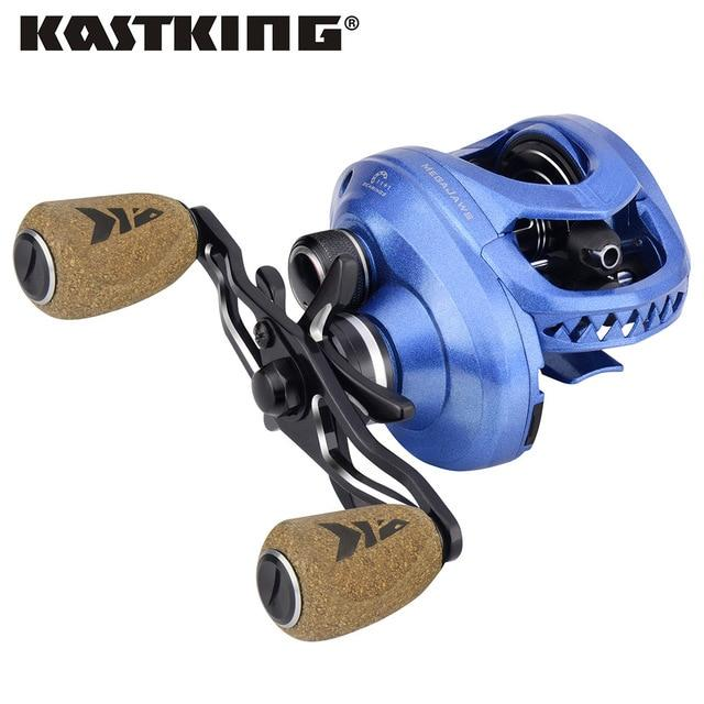 Kastking Megajaws High Speed Freshwater Fishing Reel 8Kg Max Drag Winter-Fishing Reels-kastking FishingTackle Store-Blue-12-Left Hand-Bargain Bait Box