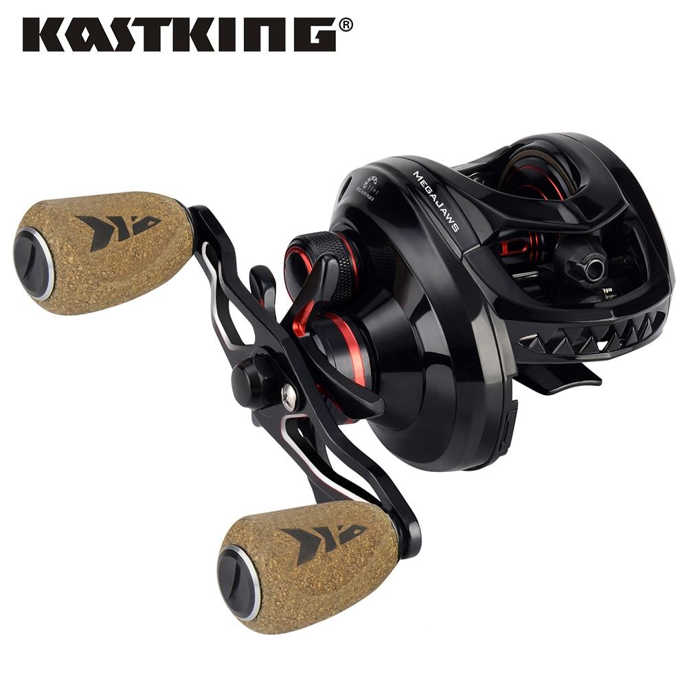 Kastking Megajaws High Speed Freshwater Fishing Reel 8Kg Max Drag Winter-Fishing Reels-kastking FishingTackle Store-Silver-12-Left Hand-Bargain Bait Box