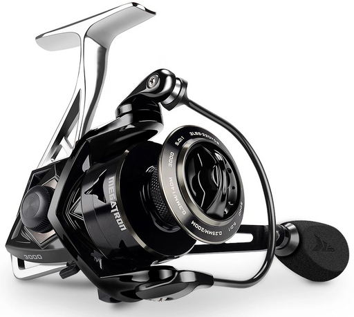 Kastking Megatron 21Kg Max Drag Carbon Drag Spinning Fishing Reel With Large-Spinning Reels-KastKingFishing Store-8-2000 Series-Bargain Bait Box