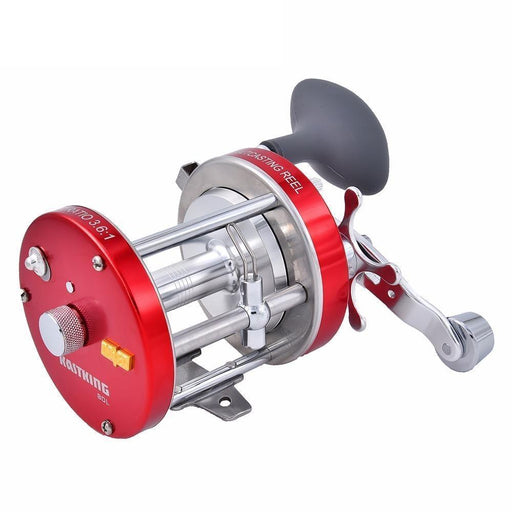 Kastking Rover 4+1 Ball Bearings Drum Baitcasting Reels Fishing Reels-Baitcasting Reels-kastking official store-7000 Series-Left Hand-Bargain Bait Box