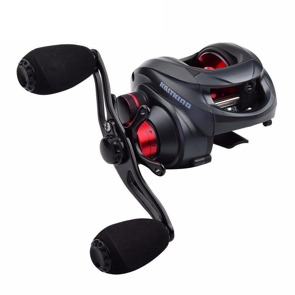 Kastking Spartacus 12Bbs Super Light Baitcasting Reel Dual Brake System-Baitcasting Reels-kastking official store-Left Hand-Bargain Bait Box