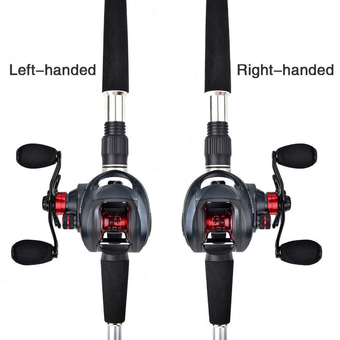 Kastking Spartacus 12Bbs Super Light Centrifugal And Magnetic Brake System-Baitcasting Reels-kastking official store-Left Hand-Bargain Bait Box