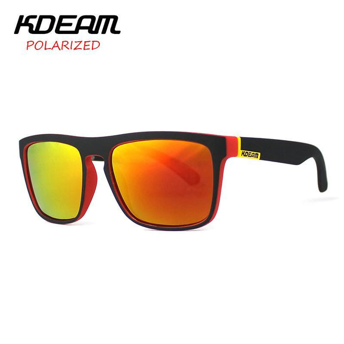 Kdeam Polarized Sunglasses Men Sport Eyewear Driving Oculos De Sol Reflective-Polarized Sunglasses-Bargain Bait Box-C1-Polarized-Bargain Bait Box