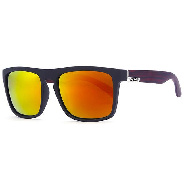 Kdeam Polarized Sunglasses Men Sport Eyewear Driving Oculos De Sol Reflective-Polarized Sunglasses-Bargain Bait Box-C12-Polarized-Bargain Bait Box